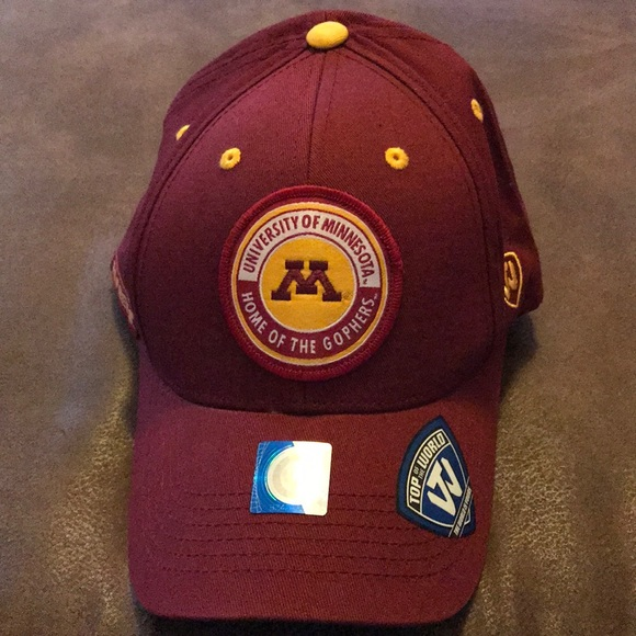 newest collection db964 506f4 ... spain top of the world minnesota gophers snapback hat c9d97 a08ae